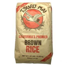 Tsuru Mai Brown Rice – 50 LB