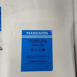 Mandarin Tempura Batter Mix – 50 LB