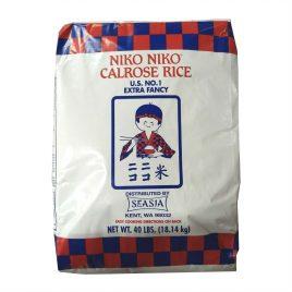 Niko Niko Calrose Rice – 40 LB