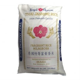 Royal Blossom Jasmine Rice – 50 LB