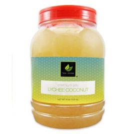 Tea Zone Lychee Coconut Jelly