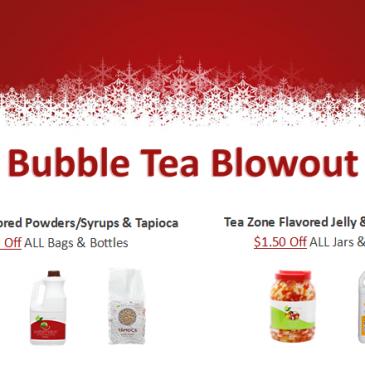 Bubble Tea Blowout