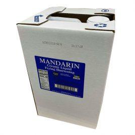 Mandarin Soy Liquid Fry Oil – 35 LB