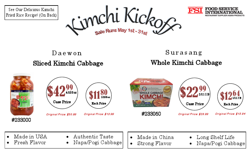 Kimchi Kickoff 1